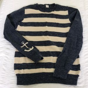 Boys Crewcuts striped sweater